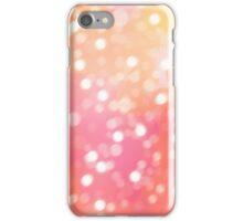 Warm Pink-Orange iPhone Case/Skin