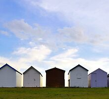 Beach Huts by Lord William Chard