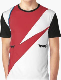 Minimalist Aladdin Sane album cover Graphic T-Shirt