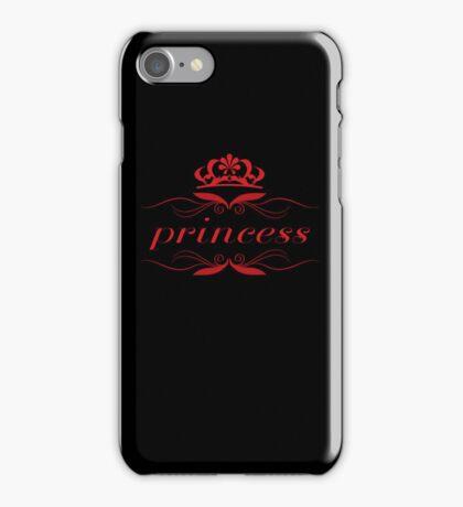 princess & crown 2 iPhone Case/Skin