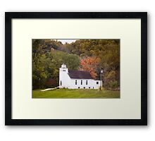 ROSEWOOD COMMUNITY CHURCH Framed Print