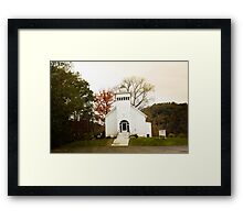 ROSEWOOD COMMUNITY CHURCH II Framed Print