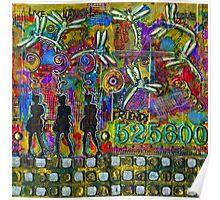 525,600 Minutes Metal Art - COLOR Poster
