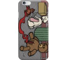 Teddy Bear and Bunny - The Abortion iPhone Case/Skin