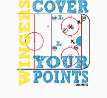 Wingers Cover Your Points Hockey Unisex T-Shirt