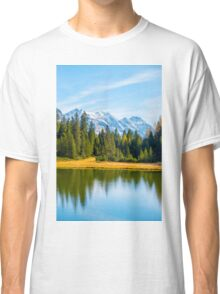 Alpine lake  Classic T-Shirt