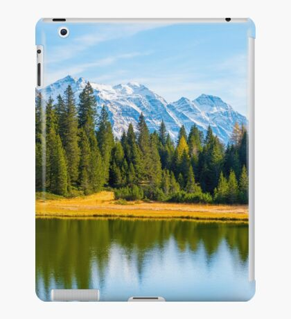 Alpine lake  iPad Case/Skin
