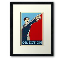Objection - B/R Framed Print