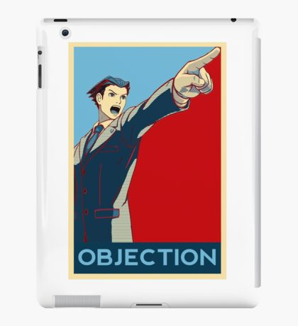 Objection - B/R iPad Case/Skin