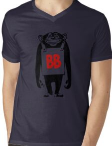 Big Bonobos Mens V-Neck T-Shirt