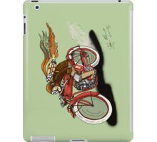 STEAMPUNK INDIAN STYLE MOTORCYCLE IPAD COVER iPad Case/Skin