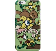 Teddy Bear And Bunny - Eye See You iPhone Case/Skin