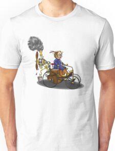 Steampunk vintage Peugeot style car Unisex T-Shirt