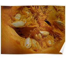 Pumpkin Guts Poster