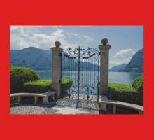 Gate to heaven, Lugano, Switzerland Baby Tee