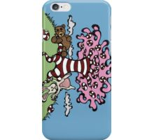 Teddy Bear And Bunny - Sugar Crash 3 iPhone Case/Skin
