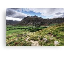 Langdale Fell Canvas Print