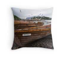 Keswick Beach Throw Pillow