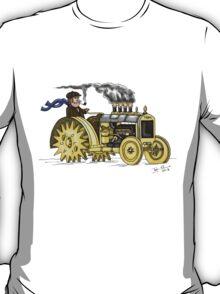 Steampunk Vintage Tractor T-Shirt