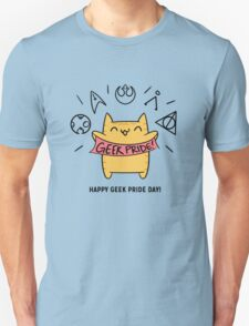 Cat Geek Pride Day T-Shirt