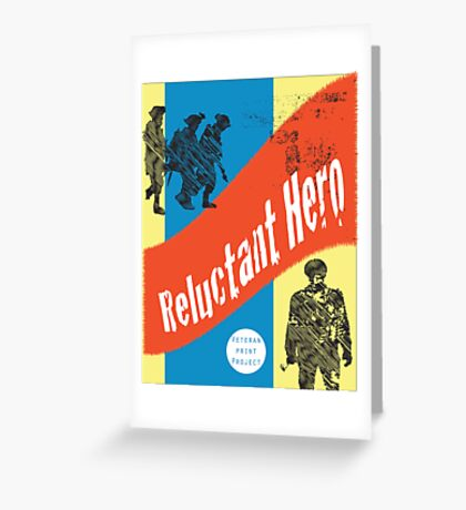 Reluctant Hero #2 Greeting Card