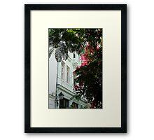 Cuban facade Framed Print