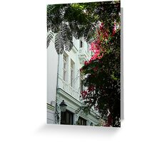 Cuban facade Greeting Card