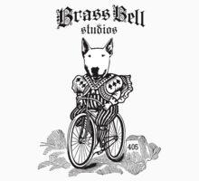Brass Bell Studios Oxford on a Bike by VikingAshley