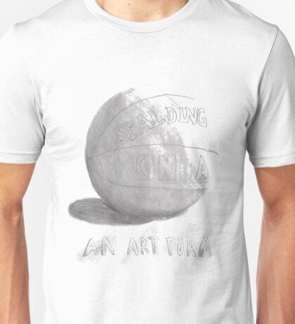 Basketball is an art form Unisex T-Shirt