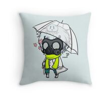 [Clear] What's Under the Mask? Throw Pillow