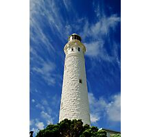 Lighthouse in full colour Photographic Print