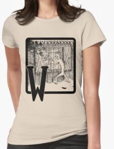 W is for... Womens Fitted T-Shirt