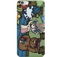 Teddy Bear And Bunny - Shampoo iPhone Case/Skin