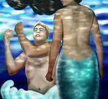 The Mermaid by Sylvia  Hollis
