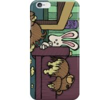Teddy Bear And Bunny - Triple Dog Dare iPhone Case/Skin