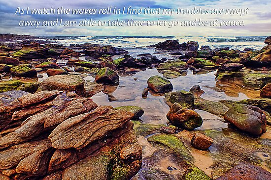 As I watch the waves... by Julia Harwood