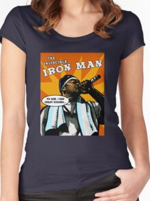 The Invincible Iron Man Women's Fitted Scoop T-Shirt