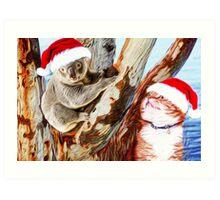 Christmas Down Under Art Print