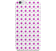 Background Red Flowers iPhone Case/Skin