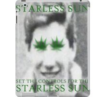 Set The Controls For The Starless Sun iPad Case/Skin