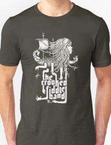Tshirt - Moving Pieces of the Sea - white print T-Shirt