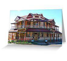 Metropole Hotel Boulder, WA Greeting Card