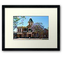 Court Hotel, Boulder WA Framed Print