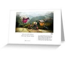 """Sapa"" en Mots & Image (M.Konecka) Greeting Card"