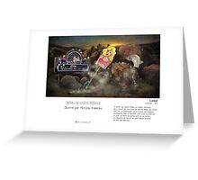"""Carmel"" en Mots & Image (M.Konecka) Greeting Card"