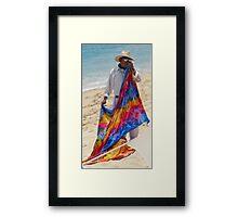 Seaside Shawl Framed Print