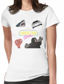 Universal Studios Womens Fitted T-Shirt