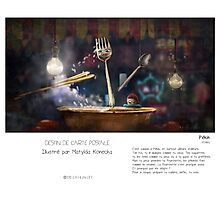 """ Pékin "" en Mots & Image (M.Konecka) Photographic Print"
