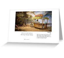 """Denpasar "" en Mots & Image (M.Konecka) Greeting Card"
