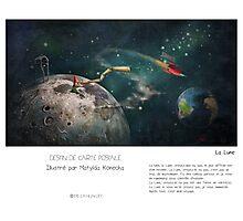 """""""La Lune"""" en Mots & Image (M.Konecka) Photographic Print"""